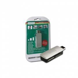 Bedienungsanleitung für Leser Gummi Memory Card Reader USB 2.0 DIGITUS Stick (DA-70310-1)
