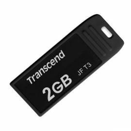 Datasheet USB Flash disk TRANSCEND JetFlash T3 2GB, USB 2.0 (TS2GJFT3K) schwarz