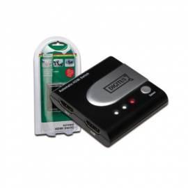 Benutzerhandbuch für Zubehör für PC DIGITUS HDMI Switch 2- &  Gt; 1 (DS-44302)