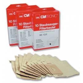 Beutel für Staubsauger CLATRONIC FBS 1222-Filter-Papier Gebrauchsanweisung