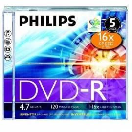 Aufnahme-Medien, PHILIPS DVRPH0027 Bedienungsanleitung