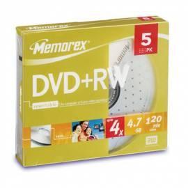 Aufnahme-Medien, MEMOREX DVWME0059 Gebrauchsanweisung