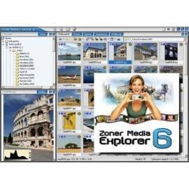 Handbuch für Software ZONER Media Explorer 6 - Startseite