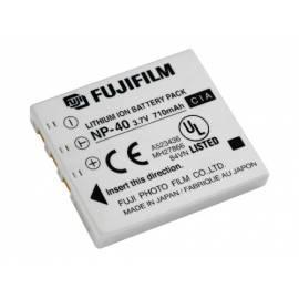 FUJI Batterien Akku NP-40 - Anleitung