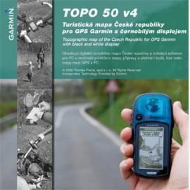 Mapy GARMIN TOPO 50 v. 4 Gebrauchsanweisung