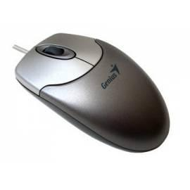 Bedienungshandbuch Maus GENIUS MaxFire 120 USB Metallic (31011618100) Silber/grau