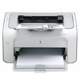 Bedienungsanleitung für HP LaserJet LaserJet P1005 (CB410A # B19) weiß