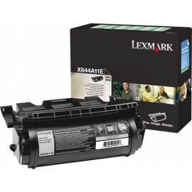 Handbuch für Toner Lexmark X64XE 10 k prebate (0X644A11E)