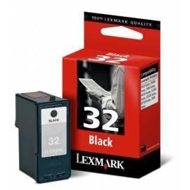 Patrone Lexmark Black 18C0032E (200 Seiten) - Anleitung