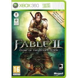 Handbuch für Spiel Xbox 360 Fable 2 DVD + Erweiterungspaket