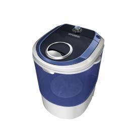 Wasch-Maschine Whirlpool/Zentrifuge HYUNDAI WM250 weiss/blau