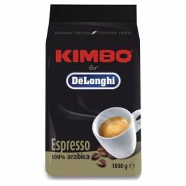 Bedienungsanleitung für Kaffee Bohnen DELONGHI Kimbo 100 % Arabica