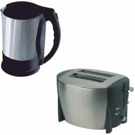 Wasserkocher ETA 1591 90000 + Toaster 3158 Schwarz/Edelstahl Gebrauchsanweisung