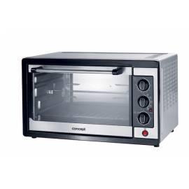 Bedienungshandbuch Tabletop Ofen Konzept ET-5042-Schwarz/Edelstahl