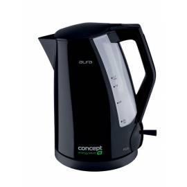 Bedienungsanleitung für Elektrische Wasserkocher RK AURA Konzept-2230-schwarz