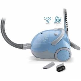Vakuum-Reiniger-Boden ETA 0473 90000 Capolo grau/blau Bedienungsanleitung