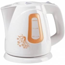 PDF-Handbuch downloadenWasserkocher ETA Marcia 1583 90020 + Tee 000092265 Weiss/Orange