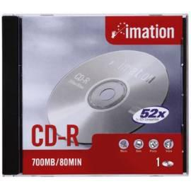 Datenträger CD Imation CD-R 80 min 52 X, Jewel-Box - bal/10ks Gebrauchsanweisung