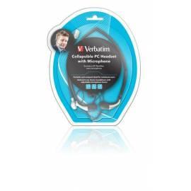 VERBATIM Headset Headset compact (41683) Bedienungsanleitung