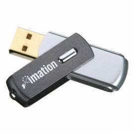 Benutzerhandbuch für USB-flash-Disk IMATION Swivel 4GB USB 2.0 (i21555) schwarz/grau