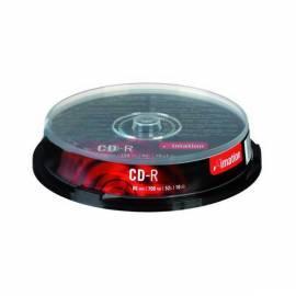 Datasheet Speichermedien, IMATION CD-R 700 MB 52 x 10-Kuchen (i24799)