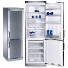 Kombination Kühlschrank / Gefrierschrank ARDO welche SHX-2210-Edelstahl - Anleitung