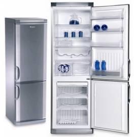 Kombination Kühlschrank / Gefrierschrank ARDO was 2610 SHX Edelstahl Gebrauchsanweisung