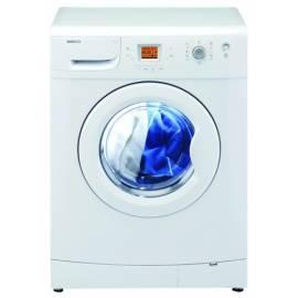 Bedienungshandbuch Waschmaschine BEKO WMD 77126 weiß