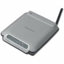 NET-Steuerelemente und BELKIN G wireless WiFi grau Bedienungsanleitung