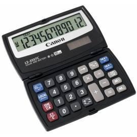 Benutzerhandbuch für Taschenrechner CANON LS-355TC
