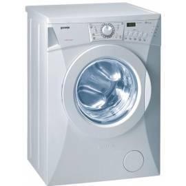 Waschmaschine GORENJE WS 42105 Gebrauchsanweisung