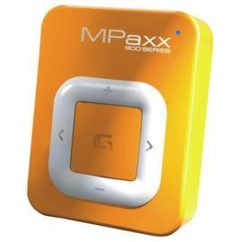 Benutzerhandbuch für Grundig MPaxx 920 MP3 player, orange