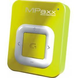 Bedienungshandbuch Grundig MPaxx 920 MP3-Player, gelb