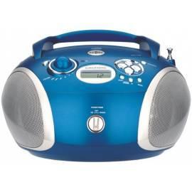 Benutzerhandbuch für Radioreceiver mit CD Grundig RCD 1420 MP3, blau