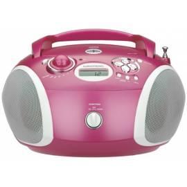 Bedienungsanleitung für Radioreceiver mit CD Grundig RCD 1420 MP3, Rosa
