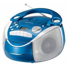 Datasheet Radiomagnetofon Grundig RRCD2700MP3 Neos blau s CD