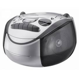 Radiomagnetofon Grundig RRCD2700MP3 silber/schwarz-s-CD Gebrauchsanweisung