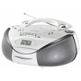 Radiomagnetofon Grundig RRCD3700MP3 weiß hohe s CD Bedienungsanleitung