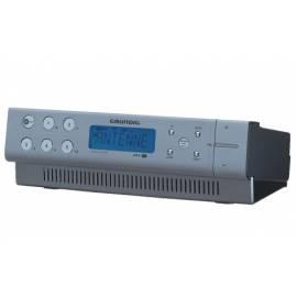 Bedienungsanleitung für Clock radio Grundig SONOCLOCK 890 aluminium, kitchen
