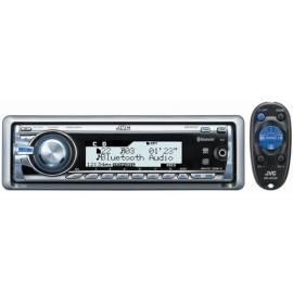 Benutzerhandbuch für CD-Autoradio JVC KD-BT22