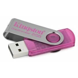 Bedienungsanleitung für Kingston DataTraveler101 USB Flash 2GB Pink, Hi-Speed