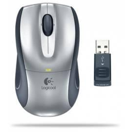 Maus Logitech V320 Cordless Optical Mouse - Anleitung