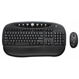 Tastatur und Maus Logitech Internet PRO BL, USB, OEM, schwarz Gebrauchsanweisung