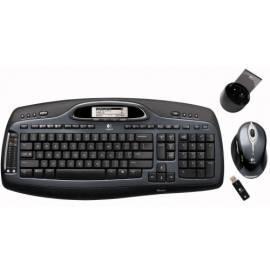 Handbuch für Tastatur und Maus, Logitech Desktop MX5000 Laser CZ, Bluetooth, USB