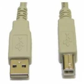 Benutzerhandbuch für Lexmark-USB-Kabel A-B 2.0-1.8 m für den Drucker