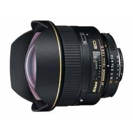 Benutzerhandbuch für Objektiv Nikon 14 mm F2. 8 AF NIKKOR ED