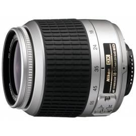 Bedienungsanleitung für Objektiv Nikon 18-55mm II. AF-S DX Silber, F3. 5-5.6 g