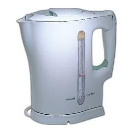 Benutzerhandbuch für Philips Wasserkocher HD 4628 weiß