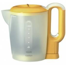 Philips Wasserkocher HD 4655/50 gelb