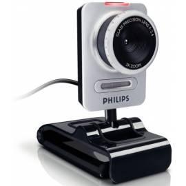 Bedienungsanleitung für PHILIPS Philips SPC1030NC Webcam schwarz/silber